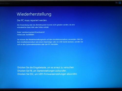Windows 8 Bluescreen