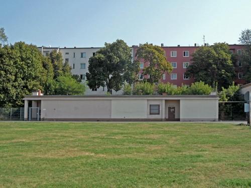 Ehemaliger Säulenbau, Sportpark Neukölln am Tempelhofer Feld